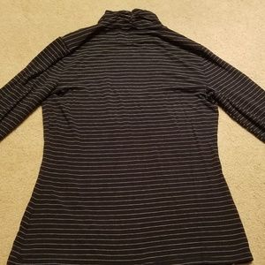 White House Black Market Tops - White House Black Market Medium Long sleeve black